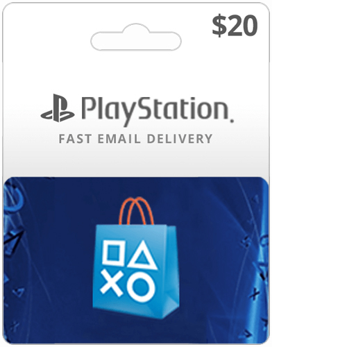 Buy $20 U.S. PlayStation Network Card
