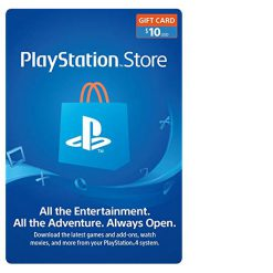 PlayStation Network Gift Card (PSN card) $10