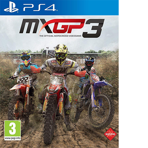 MXGP 3 The Official Motocross (PS4)