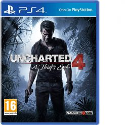 Uncharted 4: A Thief's End (PS4)- Used