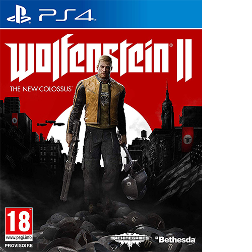 Wolfenstein 2 : The New Colossus (PS4)
