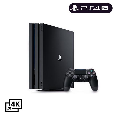 PS4 Pro 1TB Console- Black