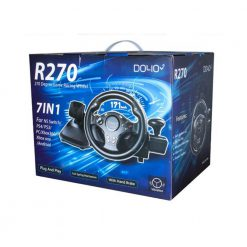 DOLIO Degree Game Racing Wheel 7 in 1 - R270