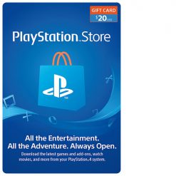 PlayStation Network Gift Card (PSN card) $20