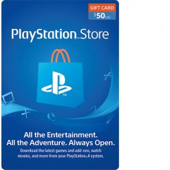 PlayStation Network Gift Card (PSN card) $50