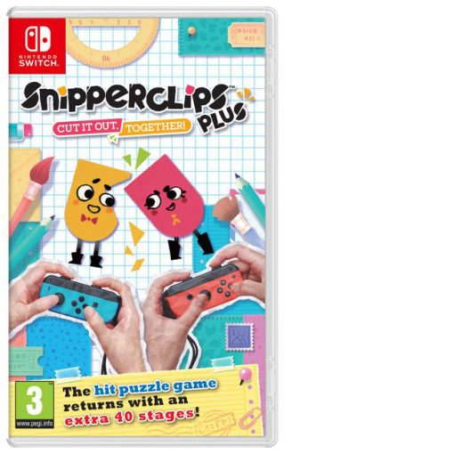 Snipperclips Plus - Cut it out together Nintendo Switch