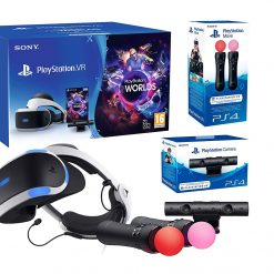 PlayStation VR Starter Plus Pack + VR Worlds + Twin Move Controllers + Camera V2