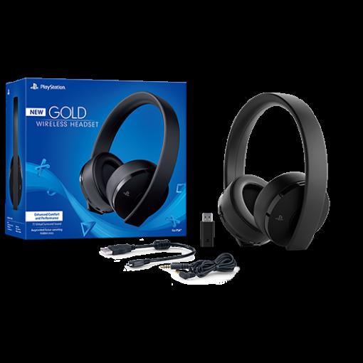 Buy Sony PlayStation Gold Wireless Headset