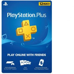 PS Plus subscription 12 months subscription