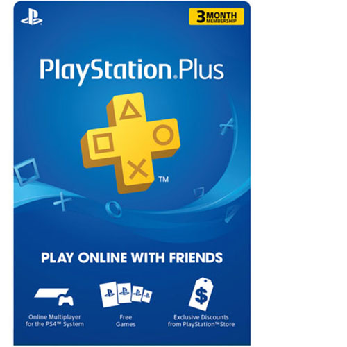 PlayStation Plus | PS Plus 3 Months Membership Subscription