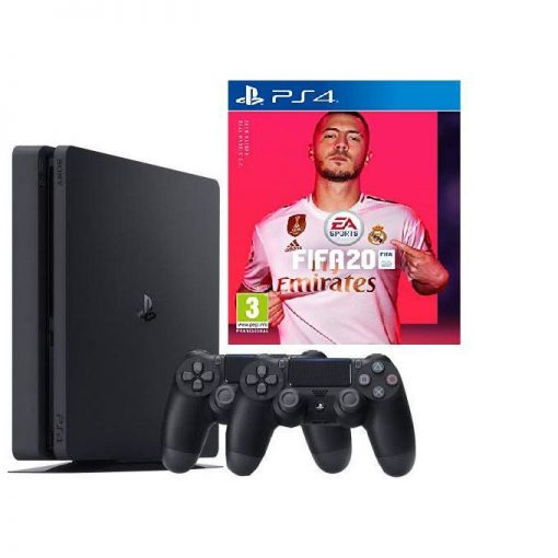 Buy PS4 500gb slim console, fifa 20 + extra pad