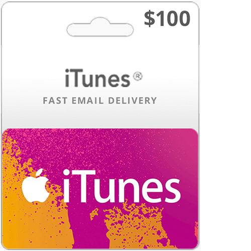 Buy $100 iTunes gift card on Cheap Games NG video game store