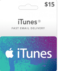 Buy $15 iTunes gift card
