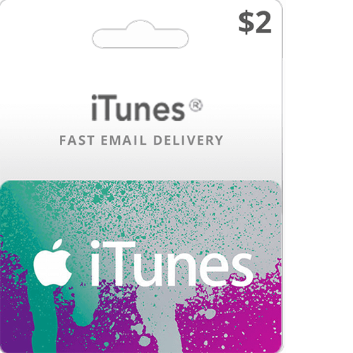 2$ itunes gift card
