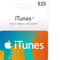 Buy $25 iTunes gift card