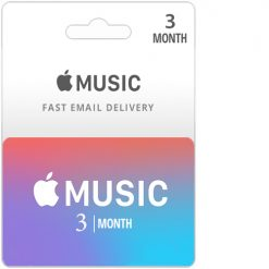Buy 3 Month Apple Music Subscription Card