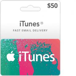 Buy 50$ iTunes gift card