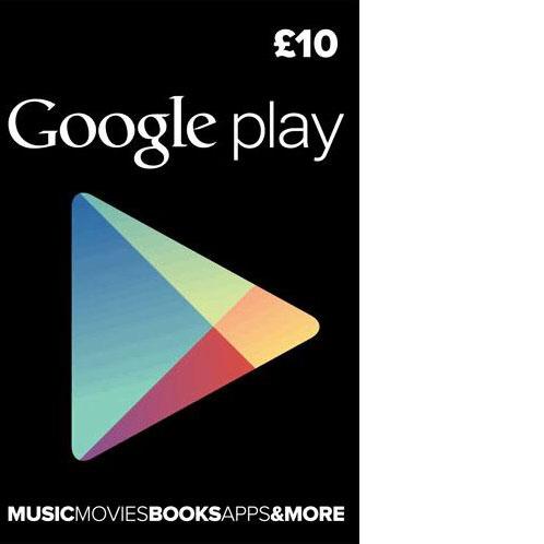 Google Play UK £10