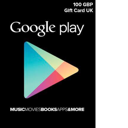 Google Play UK £100