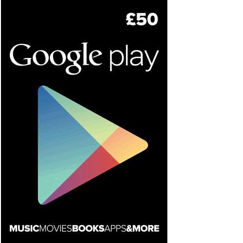 Google Play UK £50
