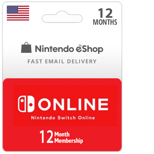 Buy 12 Month Nintendo Switch Online Membership