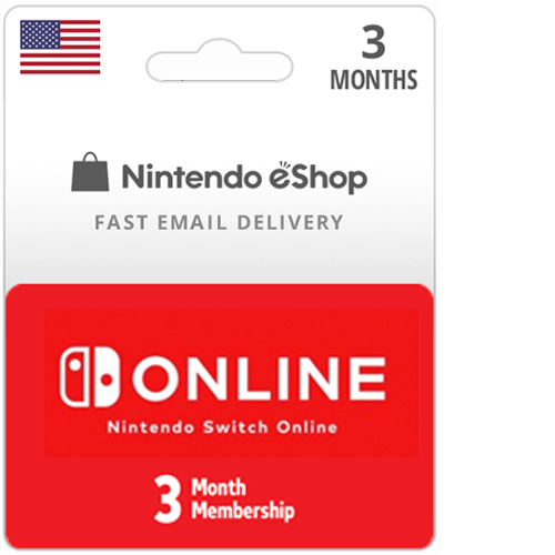 Buy 3 Month Nintendo Switch Online Membership