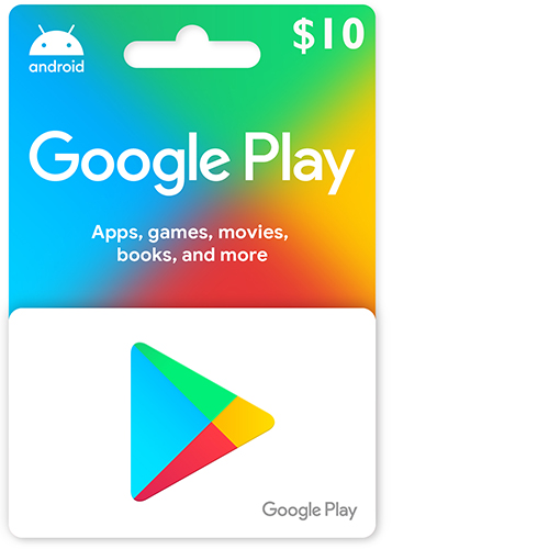 Buy 10$ Google Play Gift Card cheapgamesng