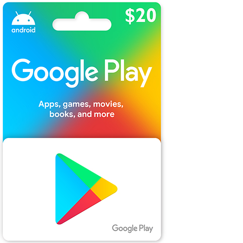 Buy 20$ Google Play Gift Card on cheapgamesng.com