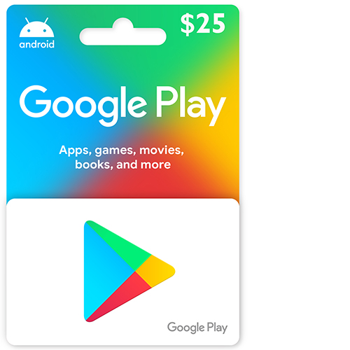 Buy 25$ Google Play Gift Card on cheapgamesng.com