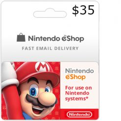 Buy $35 Nintendo Switch eShop Cards