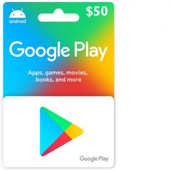 Buy 50$ Google Play Gift Card US on cheapgamesng.com