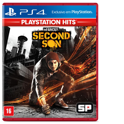 Buy used PS4 Infamous Second Son PS4 on cheapgamesng.com