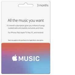 Buy Apple Music USA 3 Months Subscription